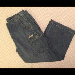 Lucky brand cropped jeans, 8/29